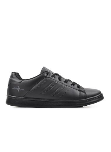 Bestof Bestof Bst-041 Siyah-Siyah Erkek Spor Ayakkabı Siyah